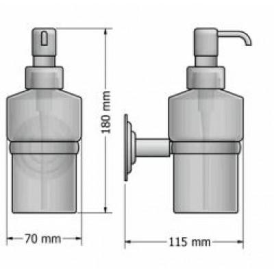 Διανομέας σαπουνιού - Ντισπένσερ  Retro Sanco A25-10322