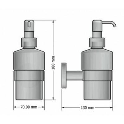 Διανομέας σαπουνιού - Ντισπένσερ Ergon Sanco A3-25922