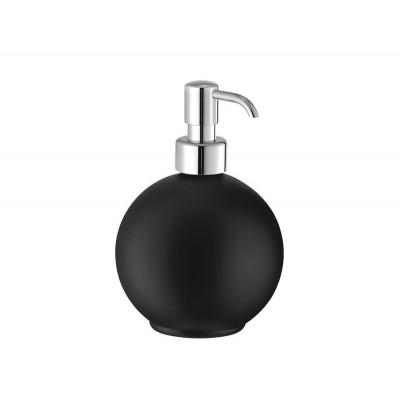 Διανομέας σαπουνιού - Ντισπένσερ επικαθήμενο Extra Comfort Sanco  055-A03-G07 Μαύρο ματ