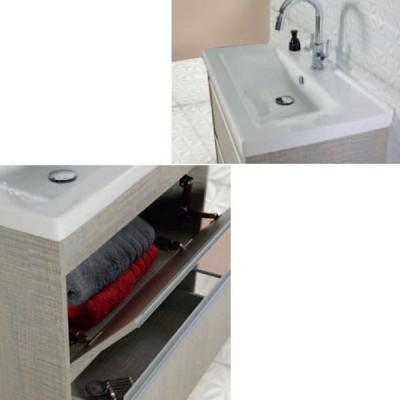 Έπιπλο μπάνιου 80x73 Δρύμων-Drimon 929