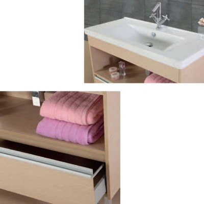 Έπιπλο μπάνιου 100x85 Νίσος-Nisos 934