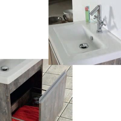 Έπιπλο μπάνιου 65x57 Νικίας-Nikias 933