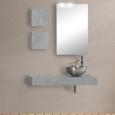 Έπιπλο μπάνιου 100x15 Δαμία-Damia 670 σε 2 αποχρώσεις