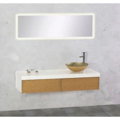 Έπιπλο μπάνιου 140x33 Νεφέλη-Nefeli 672