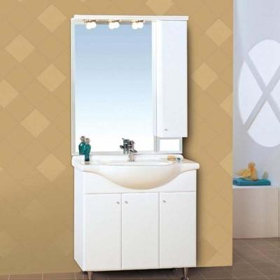 Έπιπλο μπάνιουΚλειώ/Klio  86x190 Λευκό