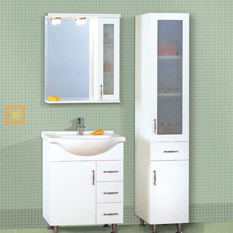 Έπιπλο μπάνιου 65x85 Λευκό
