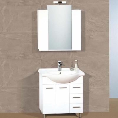 Έπιπλο μπάνιου 75x85 Λευκό