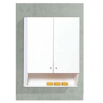 Ντουλάπι μπάνιου κρεμαστό 82x60 Λευκό