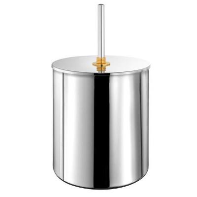 Κάδος μπάνιου 5lt  Versus Sanco A4-90626 χρώμιο - χρυσό