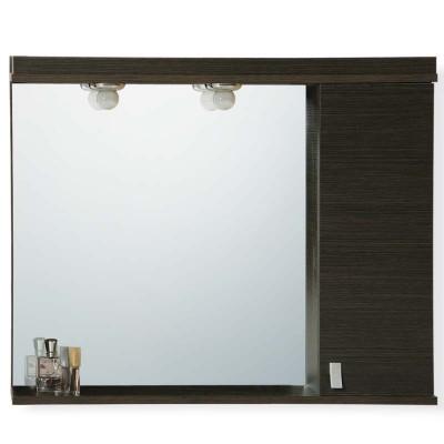 Καθρέπτης Ντουλάπι Μπάνιου 315A 80cm σε 2 αποχρώσεις