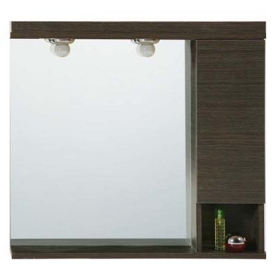 Καθρέπτης Ντουλάπι Μπάνιου 324 75cm σε 2 αποχρώσεις