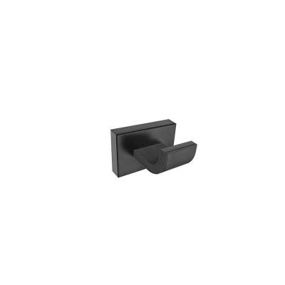 Άγκιστρο μπάνιου μονό Agean Sanco M116-26908 μαύρο ματ