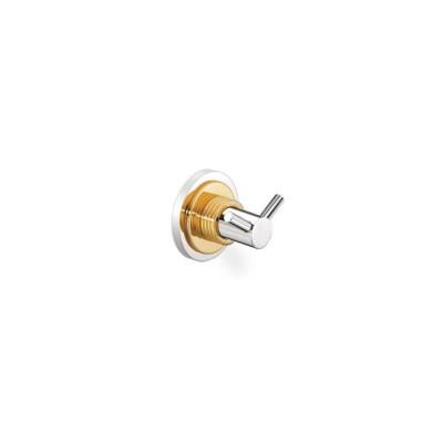 Άγκιστρο μπάνιου διπλό Versus Sanco A4-14818 χρώμιο - χρυσό