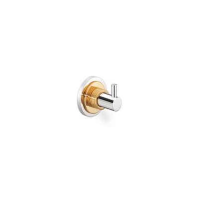 Άγκιστρο μπάνιου  μονό Versus Sanco A4-14808 χρώμιο - χρυσό