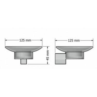 Σαπουνοθήκη μπάνιου  Allegory Sanco A3-25602