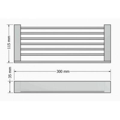 Σπογγοθήκη μπάνιου  Allegory Sanco A3-25643