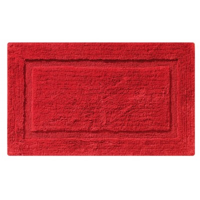 Ταπέτο μπάνιου BORDER RED 50x80