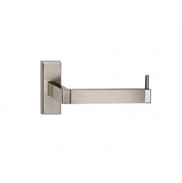 Χαρτοθήκη μπάνιου Atlantic Viometale νίκελ ματ/χρώμιο