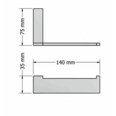 Χαρτοθήκη μπάνιου  Allegory Sanco A3-25606
