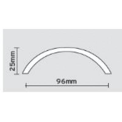 Λαβές επίπλων Viometale 05.39 νίκελ ματ