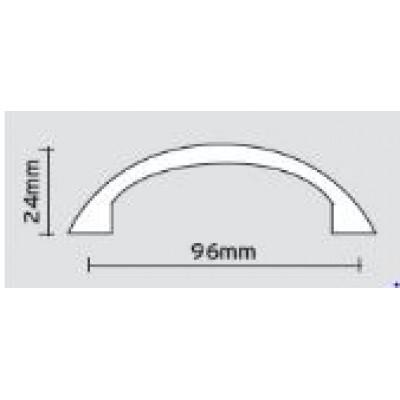 Λαβές επίπλων Viometale 05.40 νίκελ ματ/χρώμιο