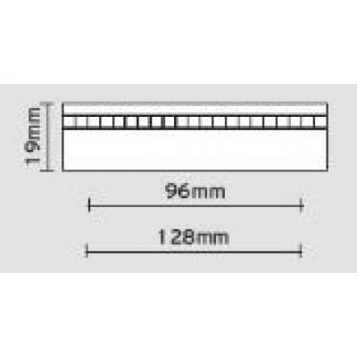 Λαβές επίπλων Viometale 05.57 νίκελ ματ με κρυσταλλάκια-strass