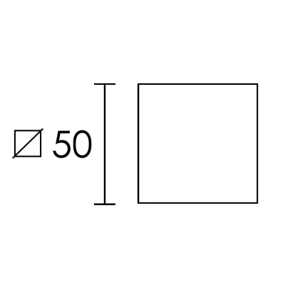 Ροζέτα Πόρτας Mπάνιου Conset C875 ασφαλείας σε νίκελ ματ