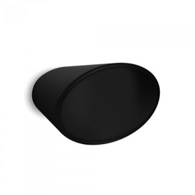 Μπουλ Εξώπορτας Convex 479/80  μαύρο ματ