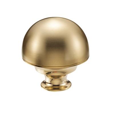 Μπουλ εξώπορτας στρογγυλό Viometale 07.17/80 χρυσό/χρυσό ματ