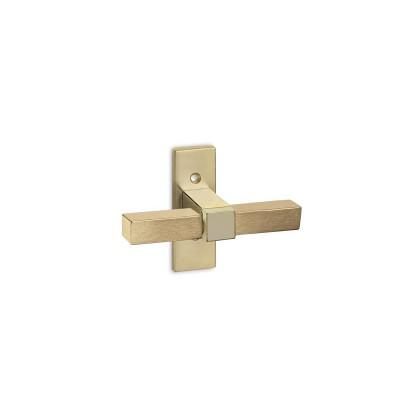 Πόμολο παραθύρου Convex 735 χρυσό/χρυσό ματ