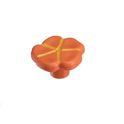 Πομολάκι επίπλων Viometale 01.129 λουλούδι πορτοκαλί