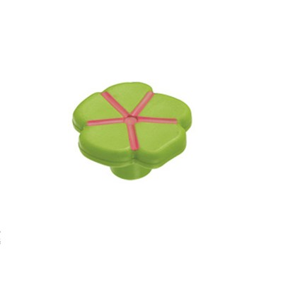 Πομολάκι επίπλων Viometale 01.129 λουλούδι πράσινο