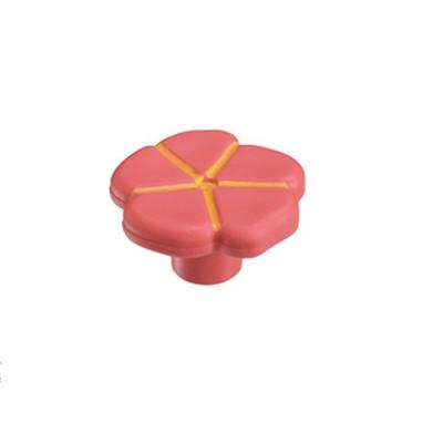 Πομολάκι επίπλων Viometale 01.129 λουλούδι ροζ