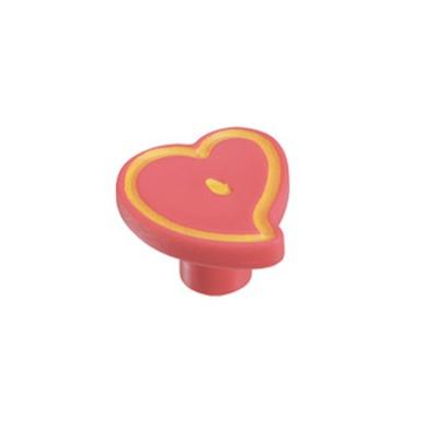 Πομολάκι επίπλων Viometale 01.130 καρδιά ροζ