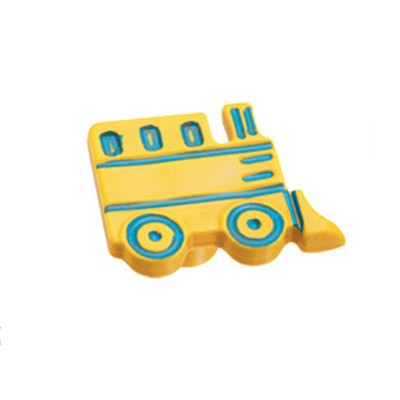 Πομολάκι επίπλων Viometale 01.131 τρένο κίτρινο