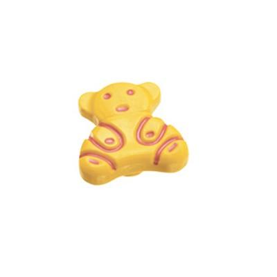 Πομολάκι επίπλων Viometale 01.132 αρκουδάκι κίτρινο