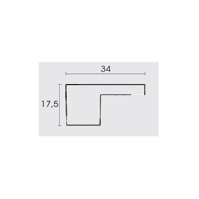 Πομολάκι επίπλων Conset C573 σε νίκελ ματ
