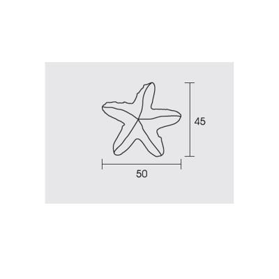 Παιδικό πόμολο Conset C849 αστερίας