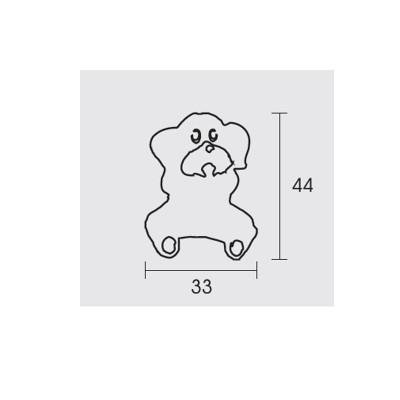 Παιδικό πόμολο Conset C849 σκυλάκι
