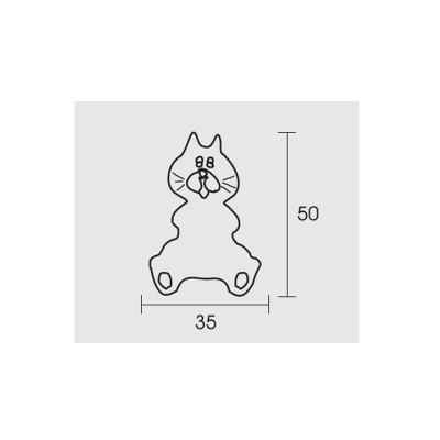 Παιδικό πόμολο Conset C849 γατάκι