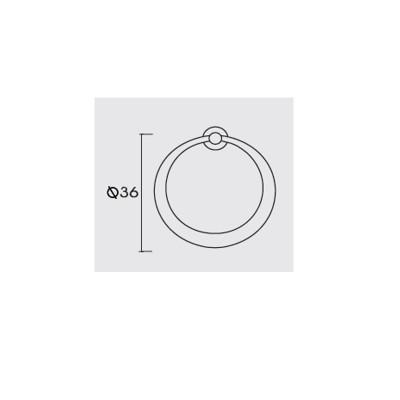 Λαβή επίπλων Conset C908 οξυντέ