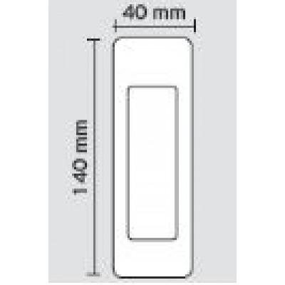 Χούφτα πόρτας Viometale 500 νίκελ ματ