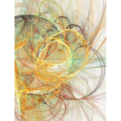 Ταπετσαρία Αφηρημένη Τέχνη - Art  6 Πολύχρωμες κορδέλες