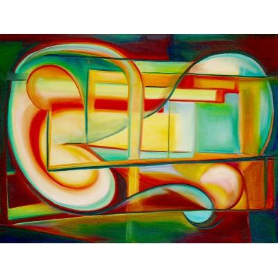 Ταπετσαρία Αφηρημένη Τέχνη - Art 16