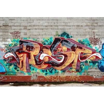 Ρόλερ - Ρολοκουρτίνα Σχέδιο Απομιμήσεις Υλικών - Γκράφιτι 1