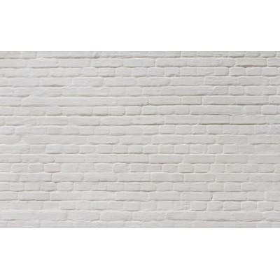 Ταπετσαρία Απομιμήσεις Υλικών - Γκράφιτι 52 Λευκό τουβλάκι