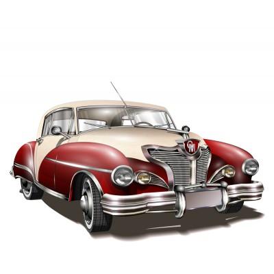 Ρόλερ - Ρολοκουρτίνα Σχέδιο Αυτοκίνητα - Μηχανές 1 Αυτοκίνητο αντίκα