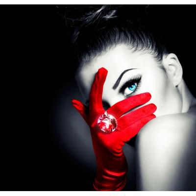 Ταπετσαρία Comics - Πρόσωπα 29 Κόκκινα γάντια