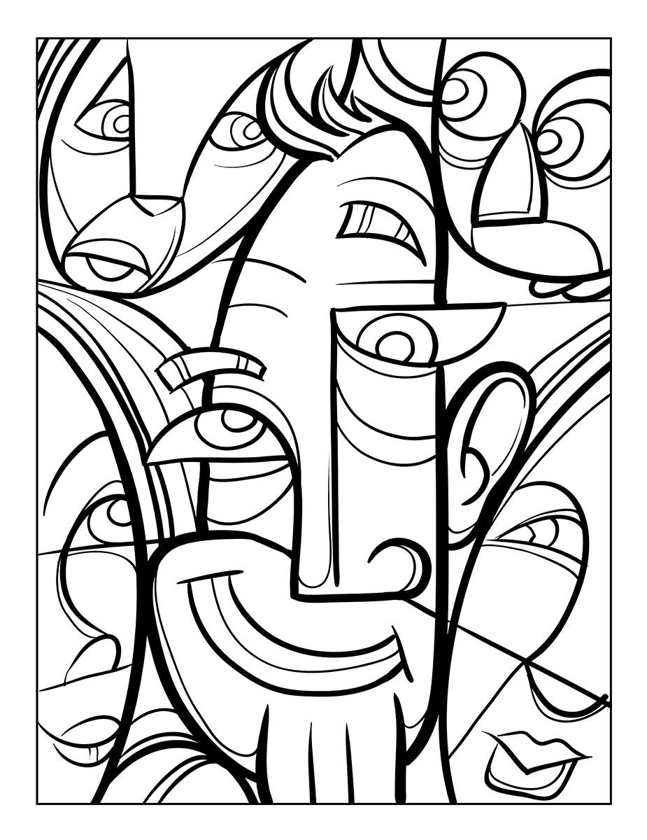 Ρόλερ - Ρολοκουρτίνες Σχέδιο Comics - Πρόσωπα 99