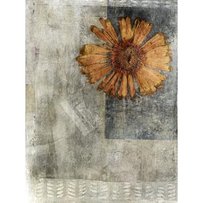 Ταπετσαρία Φύση - Λουλούδια - Floral61 Αποξηραμένη μαργαρίτα